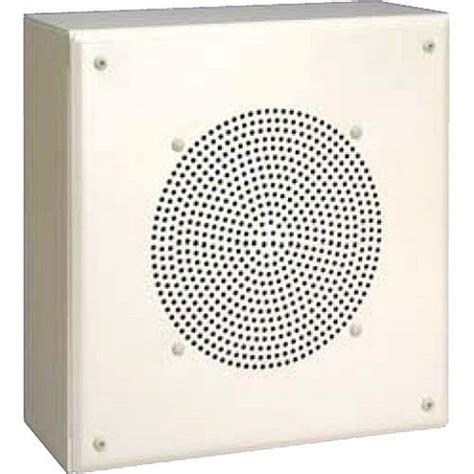 Bogen Ceiling Speaker Enclosure by Bogen Mb8tsq Vr 8 Quot Metal Box Speaker