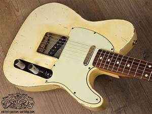 Vintage White Blond Blonde Telecaster Heavy Relic Artys