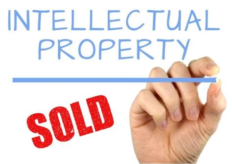 sell  startups intellectual property