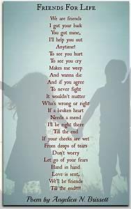 friends for n brissett friendship poems