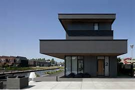 Modern Black House Bright Accents Black Villa BBVH Architecture Interior Design Architecture And