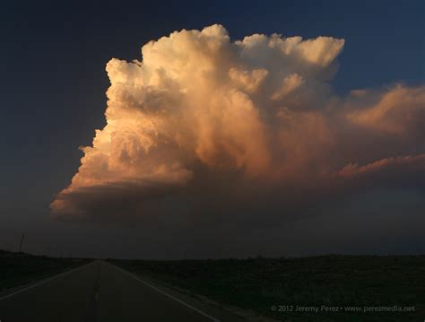 Low-Topped LP Supercell - Englewood, KS - March 14, 2012 ...