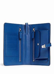 giorgio armani saffiano small document holder in blue for With small documents holder