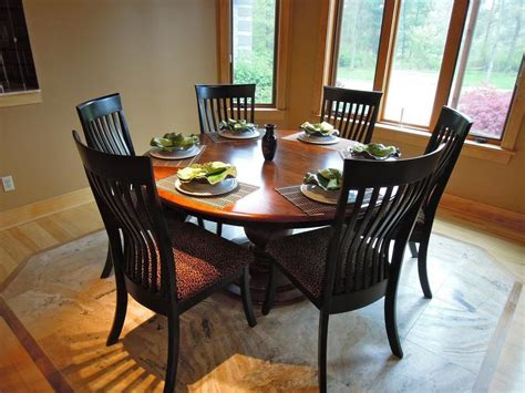 Choose Round Dining Table For 6