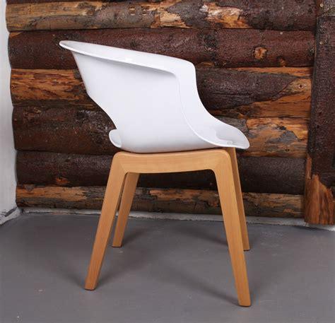 Design Stuhl Holz by Design Stuhl Holz Buche Kunststoff Sitz Wei 223