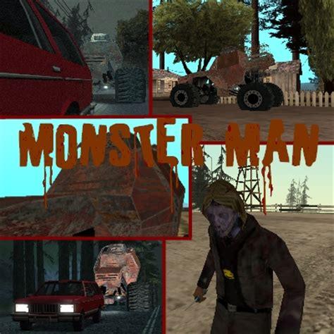 monster man mod  grand theft auto san andreas mod db