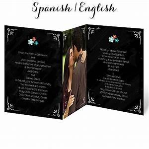 pizarra bonito wedding invitation aqua spanish wedding With wedding invitations in spanish and english