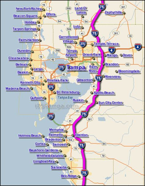 I75 Tampa Traffic Maps And Road Conditions