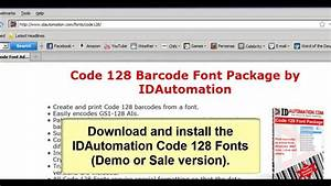 How To Create A Gs1 Barcode In Microsoft Excel Using Code