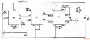 Patent Us4698619 Variable Frequency Fire Tone Generator