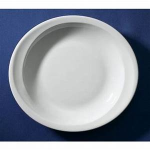 Assiette Creuse Blanche : assiette creuse ovale blanche elypse 19 7x17 8cm en ~ Teatrodelosmanantiales.com Idées de Décoration