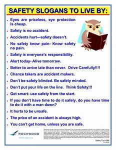 Safety Slogans By Falgal17 | Chainimage