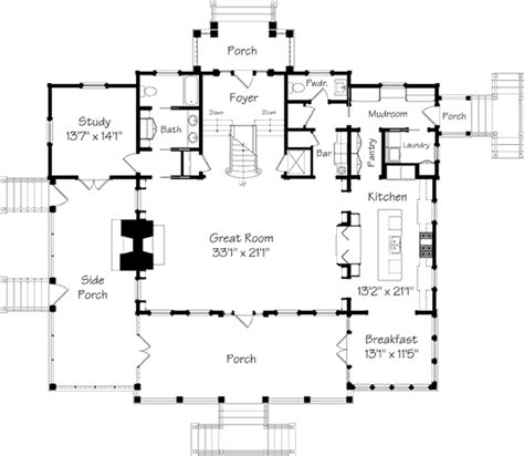 southern living floor plans captain s watch coastal living southern living house plans