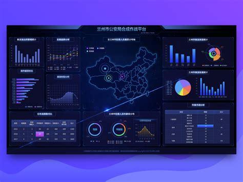 public security bureau big screen data platform  itern