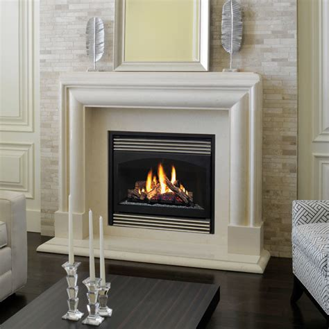 Marble Fireplace Mantels - Avalon - Contemporary