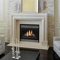 great contemporary fireplace mantel Marble Fireplace Mantels - Avalon - Contemporary - Fireplace Mantels - other metro - by ...