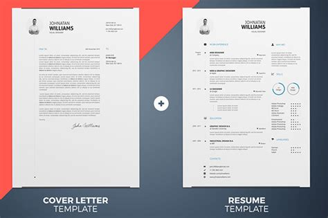 resume templates  psd ai word docx