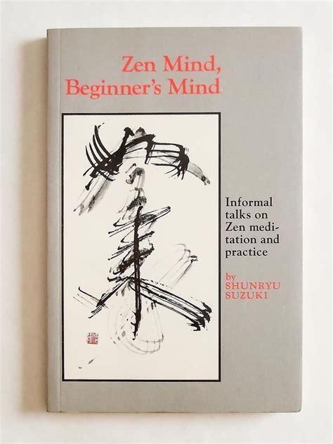 mind zen beginner shunryu suzuki paperback