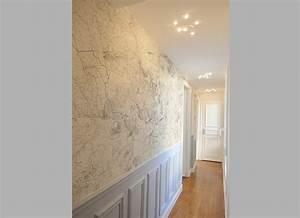 Papier Peint Pour Couloir : papier peint entr e couloir menuiserie ~ Melissatoandfro.com Idées de Décoration