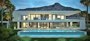 Villa Moderne Sous Construction