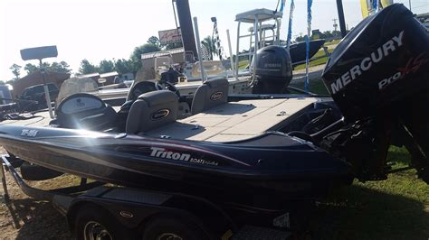 Used Bass Boats Conroe Tx by 2007 Used Triton 186 Bass Boat Bass Boat For Sale