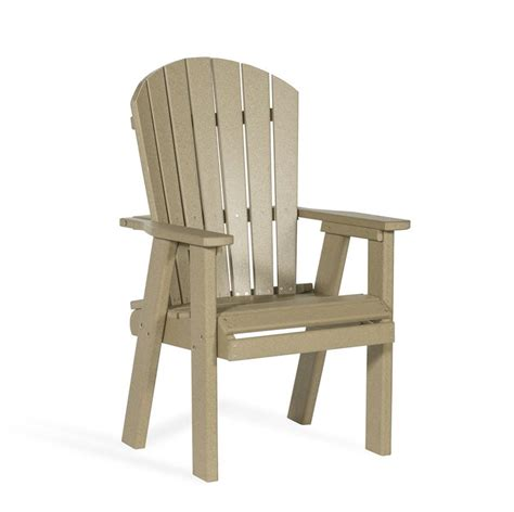 poly bistro chair from dutchcrafters amish furniture
