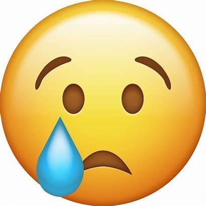 Emoji Sad Crying Transparent Face