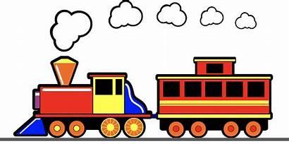 Train Clipart Smoke Clip Cartoon Toy Trains