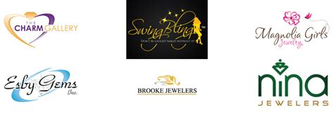 jewelry logos logo design guru