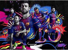 FC Barcelona 201718 Nike Home Kit – FOOTBALL FASHIONORG