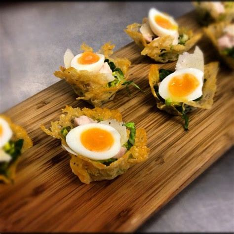 cuisine canapé caesar salad anyone dining canapes from the poet