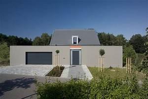 Haus Mit Büroanbau : haus g neubau einfamilienwohnhaus 2007 knipl pracht partner ~ Markanthonyermac.com Haus und Dekorationen