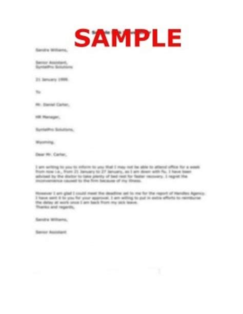 sample  personal reason leave letter letter writing