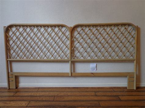 Rattan Headboards For King Beds by Headboard Vintage Rattan Bed Henry Link King Cal King Beachy