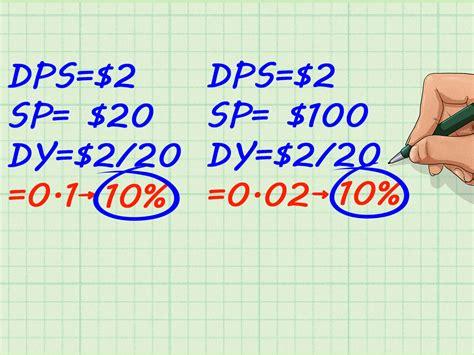 dividenden berechnen wikihow