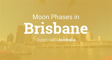 moon phases  lunar calendar  brisbane queensland