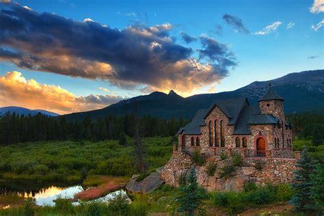 rocky mountain church photograph by darren white