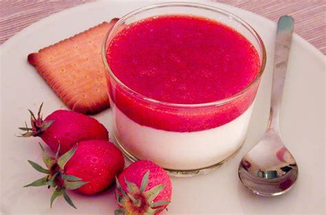 strawberry panna cotta recipe chocolate zucchini