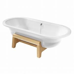 Fond De Baignoire : baignoire lot acier art plus 180x80cm blanc mat avec fond antid rapant roca r f a22255f007 ~ Melissatoandfro.com Idées de Décoration