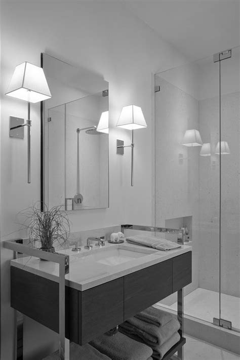 mirror  frame wall mirror  frame wall lamps real wood small brown vanity white granite countertop mounted washbasin stainless steel