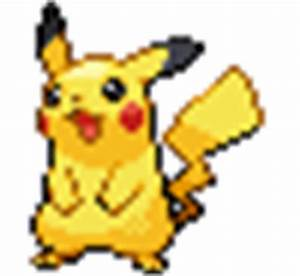 Pikachu sprites gallery | Pokémon Database