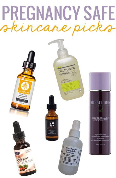 pregnancy safe care skin