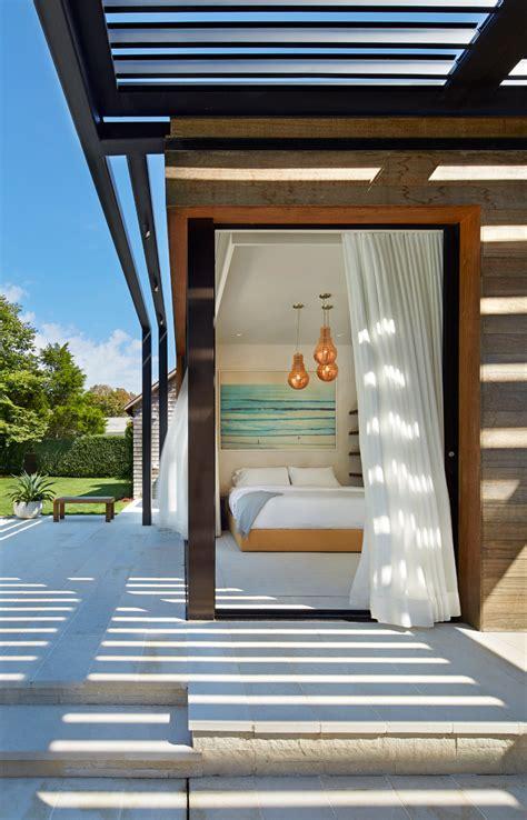 contemporary pool house   hamptons contemporist