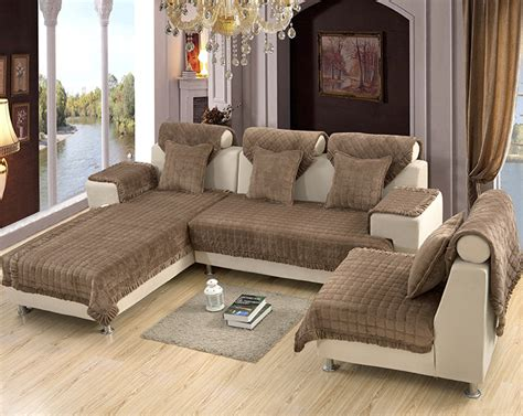 sofa slip covers for sectionals making sectional slipcovers homesfeed