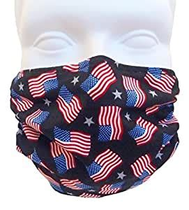 Amazon.com: American Flags Face Mask - 2-Pack Deal