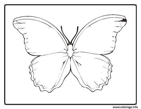 coloriage papillon  dessin