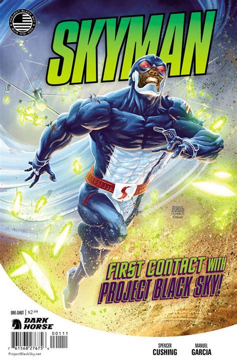 comics horse dark skyman shot darkhorse