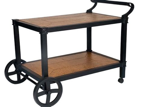Patio Serving Carts On Wheels Patio Carts With Wheels Plans Icamblog