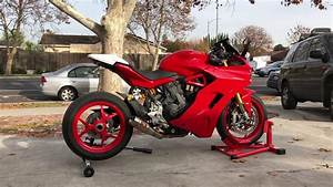 Ducati Supersport 939 : ducati 939 supersport s competition werkes exhaust startup youtube ~ Medecine-chirurgie-esthetiques.com Avis de Voitures