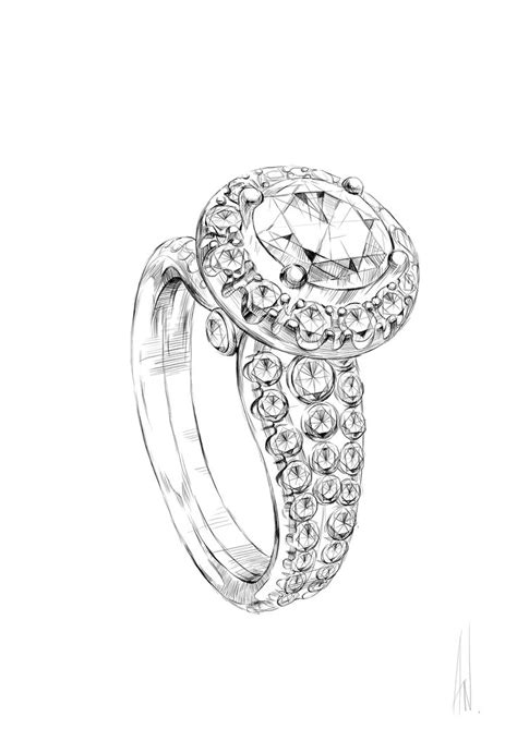 jewelry sketch ideas  pinterest jewellery
